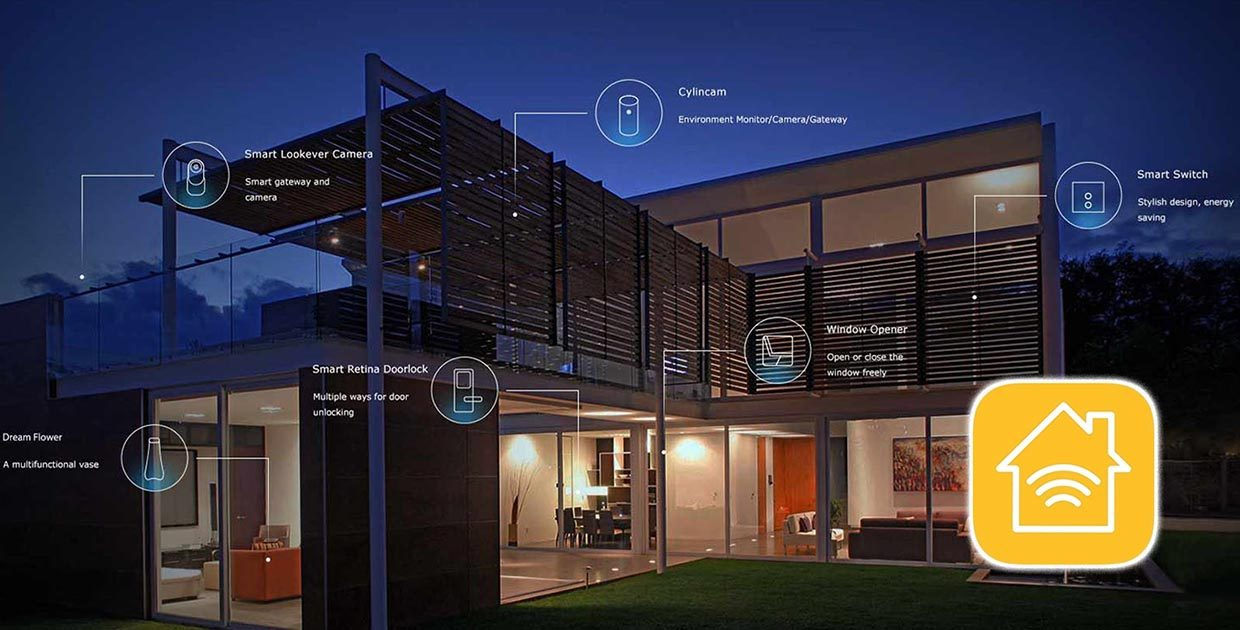 A smart home makes coffee, looks after your health and talks to you